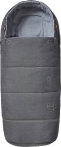 Joolz Fußsack Radiant Grey 2020, ganzjährig einsetzbar, universell einsetzbar
