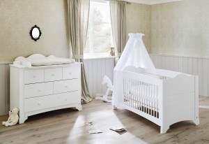 Pinolino 'Pino' 2-tlg. Babyzimmer-Set weiß, breit