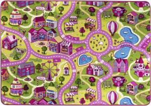 misento 'City' Kinderteppich 140x200 cm