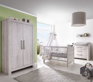 Schardt 'Nordic Cascina' 3-tlg. Babyzimmer-Set Schrank 2-türig