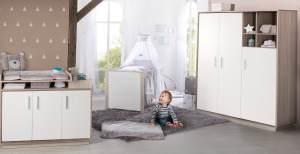 Roba 'Olaf' 3-tlg. Babyzimmer-Set