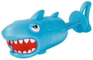 Wasserpistole Hai blau 19 cm