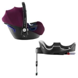 Britax Römer - Baby-Safe 2 i-Size inkl. Base Burgundy Red Kollektion 2019