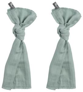 Baby's Only 921009 Swaddle Pucktuch 2er Set mint 60x70 cm