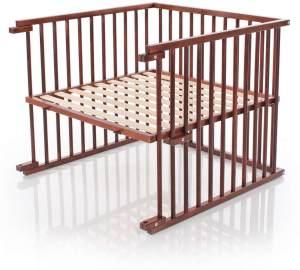 babybay Kinderbett-Umbausatz passend für Modell Original, dunkelbraun lackiert
