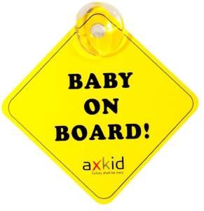 Axkid - Schild Baby on Board