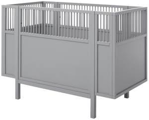 Lifetime Kidsroom Babybett grau