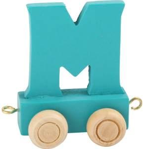 Buchstabenzug bunt M