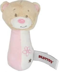Besttoy 'Bär' Softrassel rosa