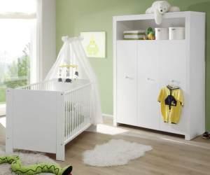 Trendteam 'Olivia' 2-tlg. Babyzimmer-Set weiß