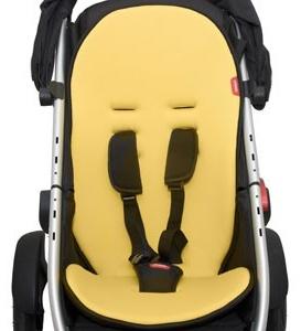 Phil & Teds Sitzkissen Cushy Ride Vibe,Verve und Sub4 gelb