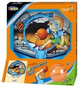 Basketball-Ringset 19,5 cm blau
