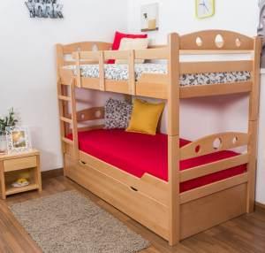 Etagenbett für Erwachsene Easy Premium Line K11/h inkl. Liegeplatz und 2 Abdeckblenden
