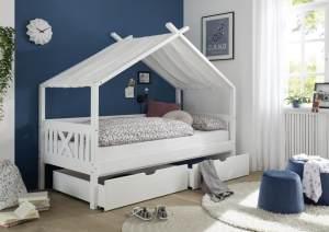 Bega 'Leonie' Hausbett, 90x200 cm, mit 2 Bettkästen