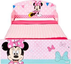 Worlds Apart 'Minnie Mouse' Kinderbett 70 x 140 cm rosa/blau
