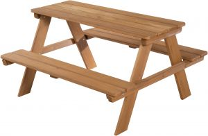 Roba 'Picknick for 4' Kindersitzgruppe braun