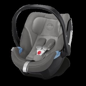 CYBEX 'Aton 5' Babyschale 2020 Soho Grey von 0 bis 13 kg (Gruppe 0+) Isofix