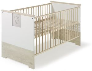 Schardt 'Eco Slide' Kombi-Kinderbett beige / weiß