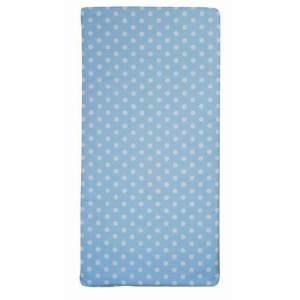 Candide rollbare Reisebettmatratze blau/weiß gepunktet 120x60 cm