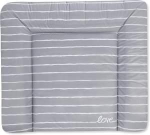Julius Zöllner Wickelauflage Softy 75 x 85 Grey Stripes