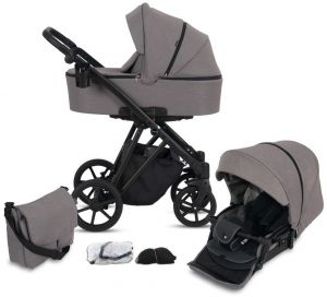 Knorr-baby LUZON 11-teilig Black Edition Taupe