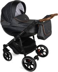 Kombikinderwagen Creativo als Set 3in1 inkl. babyschale, Babywanne, Sportaufsatz mit Gel Reifen Creativo V/03