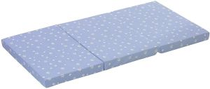 alvi 'Standard' Reisebettmatratze blau, 60 x 120 cm