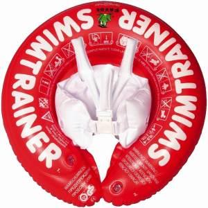Freds Swim Academy 'Classic' Schwimmtrainer für Kinder von ca. 3 Monaten bis 4 Jahren und 6 bis 18 kg, rot