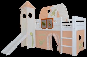 Mobi Furniture Betttasche Dinosaurier für Hochbett