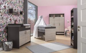 Schardt 'Clou' 3-tlg. Babyzimmer-Set Schrank 3-türig