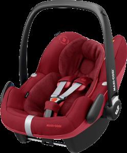 Maxi-Cosi 'Pebble Pro i-Size' Babyschale 2020 Essential Red von 45-75 cm (Gruppe 0+)