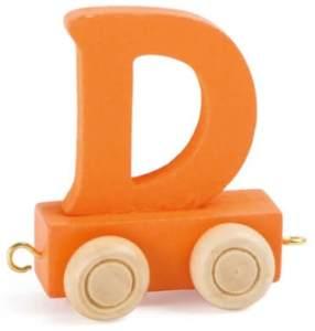 Buchstabenzug bunt D
