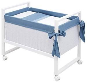 Cambrass Mini-Kinderbett, quadratisch, 55 x 88 x 72 cm, Astra
