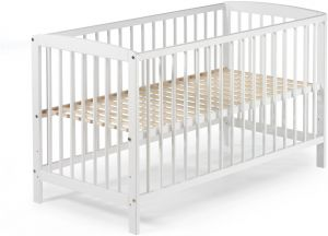 Schardt 'Felix' Kinderbett weiß, 60 x 120 cm, Lattenrost 3-fach höhenverstellbar