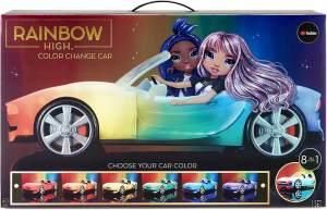 Rainbow High 'Color Change Car', Cabrio mit LED, ab 6 Jahren