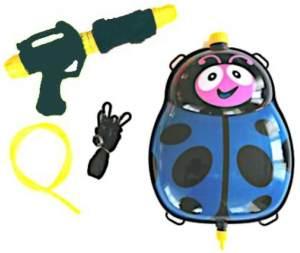 Wasserkanone mit Tank 35,5 cm blau/schwarz 5-teilig