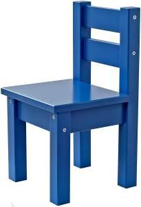 Hoppekids MADS, teilmassiv, sehr stabil, viele Farben, Holz, blau, 28 x 28 x 50 cm