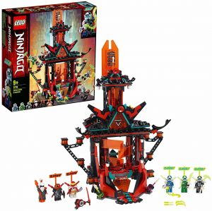 LEGO NINJAGO 71712 'Tempel des Unsinns', 810 Teile, ab 9 Jahren, inkl. 6 Minifiguren aus Prime Empire