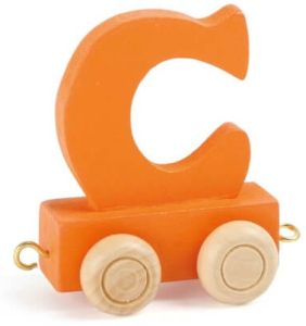 Buchstabenzug bunt C