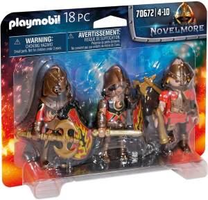 Playmobil Novelmore 70672 '3er Set Burnham Raiders', 18 Teile, ab 4 Jahren