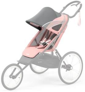 Cybex 'Avi' All Terrain Jogger-Buggy Sportsitz 2021 Silver Pink