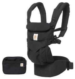 Ergobaby 'Omni 360°' Babytrage 4-Positionen Pearl Pure Black