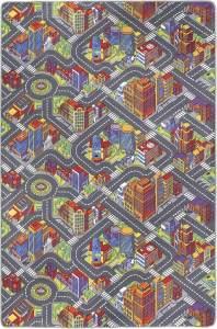 Misento 'Big City' Kinderteppich 200x300 cm