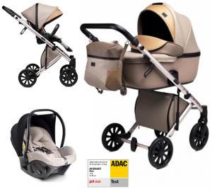 Anex 'e/type' Kombikinderwagen 4plusin1 2020 in Truffle mit Avionaut Babyschale