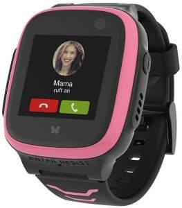 Telekom 'Kids Watch XPLORA X5 Play eSIM' Kinder-Smartwatch, ab 6 Jahren, 45 x 48,5 x 15 mm Maße (BxHxT), wasserdicht, SOS-Button, GPS, pink