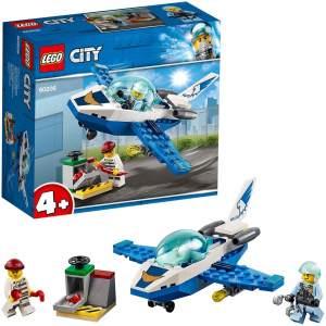 LEGO City 60206 'Polizei Flugzeugpatrouille', 54 Teile, ab 4 Jahren, perfekt geeignet für Kindergarten- und Grundschulkinder