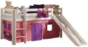 Pino Spielbett Weiß lackiert 90x200 cm Bella Softdeluxe