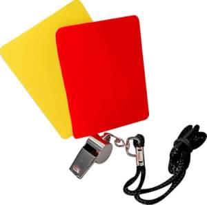New Sports Schiedsrichter-Set, 3-teilig