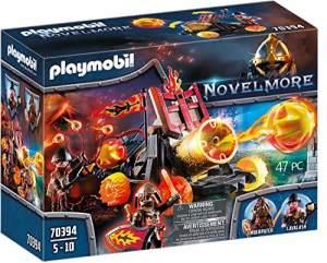 Playmobil Novelmore 70394 'Burnham Raiders Lavabombarde', 47 Teile, ab 4 Jahren