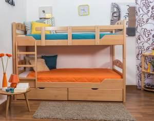 Stockbett für Erwachsene Easy Premium Line K11/n inkl. 2 Schubladen und 2 Abdeckblenden